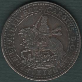 Копии монет Англии, Британии