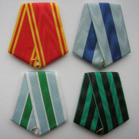 Медальные колодки и ленты для наград СССР