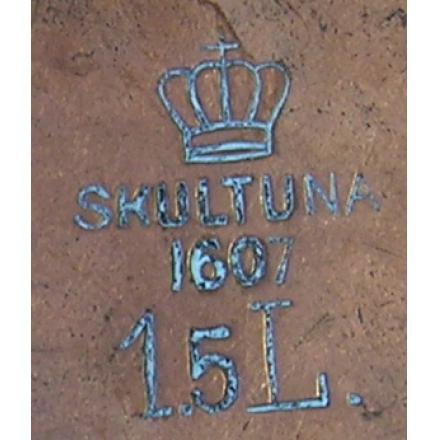 Шведский медный чайник Skultuna 1607