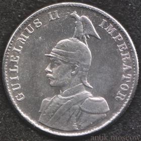 2 рупии 1893 года Германская Восточная Африка