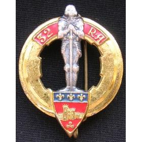 Знак 32-го Артиллерийского полка Франция