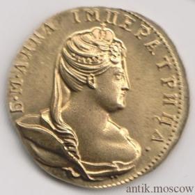 Червонец 1739 года