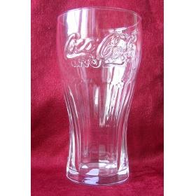 Прозрачный стакан Coca Cola