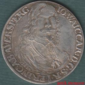 Талер 1654 года