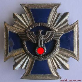 Эмалированный крест Германия 3 Рейх