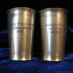 Стопки HANS FISCHER HOLZBAU BRIENZ 1974