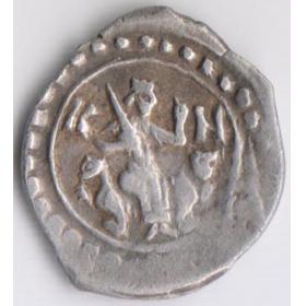 Монета князя Василия Дмитриевича
