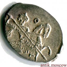 Денга 1751 года Оригинальная монета Елизаветы I