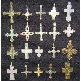 Кресты и привески древней Руси