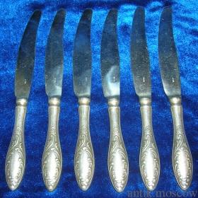 Набор КЗ МНЦ из 6 ложек 6 вилок и 6 ножей МНЦ.