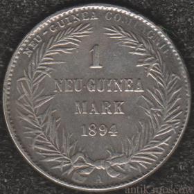 Одна марка Новая Гвинея 1894 года