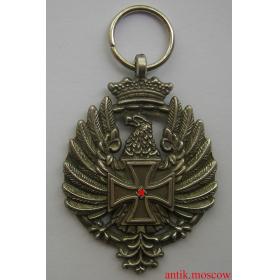 Медаль За Храбрость Испанской Голубой Дивизии, 1944 год