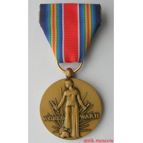 Медаль За победу во II Мировой войне США - копия