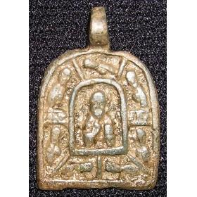 Икона Николай и отроки эфесские 14-15 век