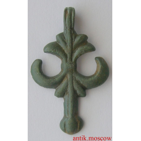 Привеска якоревидная 12 век, славяне
