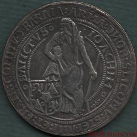 Талер 1520 года Штефан Шлик Чехия