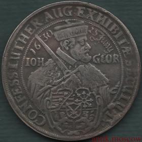 Талер 1530-1630 года Польша копия монеты Европы