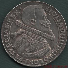 1 талер 1614 года Сигизмунд III Польша копия
