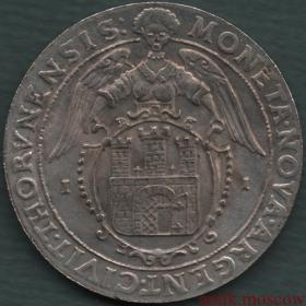 1 талер 1632 года Божья милость осадный Речь Посполитая
