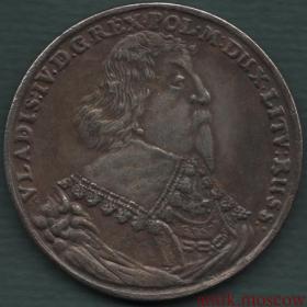 Талер Владислава 4 1635 года