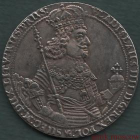 Талер 1644 года Польша Владислав 4 - копия монеты