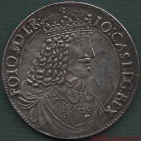 Талер 1650 года Ян Казимир Польша копия