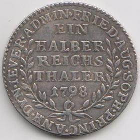 Талер 1798 года