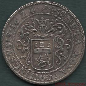 Талер 1624 года Польша Копия серебряной монеты