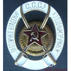 Знак За отличное владение холодным оружием Копия