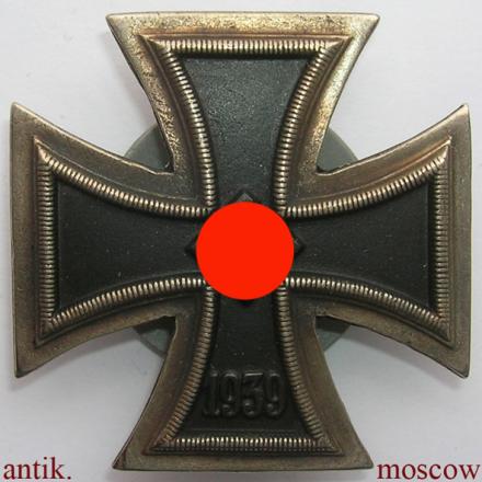 железный крест на закрутке